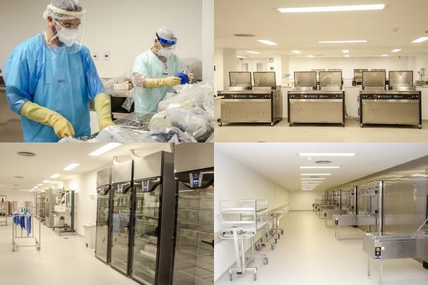 Hospital de Clinicas de Porto Alegre inaugura o maior CME da América Latina