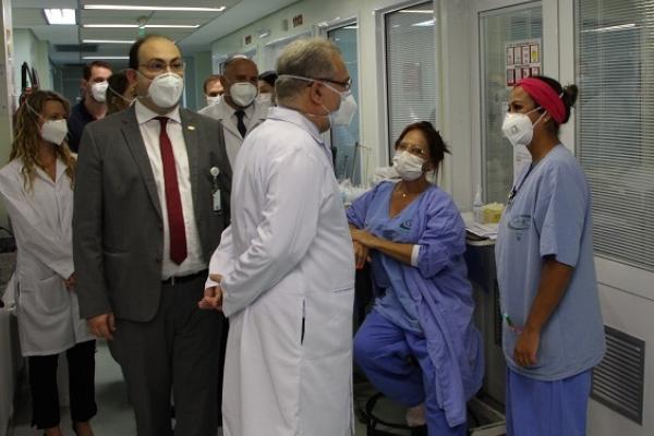 Ministro da Saúde visita hospitais do RS e se reúne com lideranças