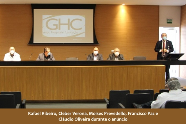 GHC anuncia novo gerente de Interunidades de Emergências e RT Médico do Hospital Conceição