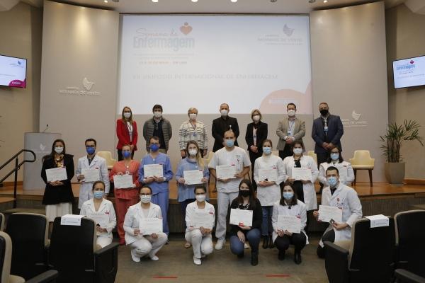 Hospital Moinhos de Vento entrega Prêmio Dania em oito categorias da Enfermagem