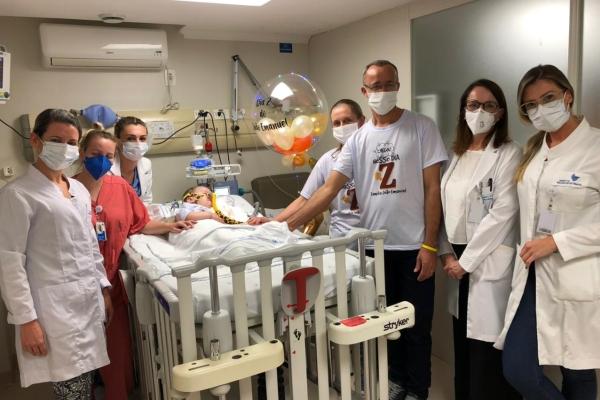 Hospital Moinhos de Vento realiza segunda terapia gênica para tratamento de AME