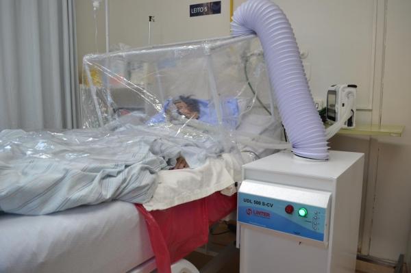 Hospital Virvi Ramos e Uniftec testam nova forma de utilização de ventilação não invasiva