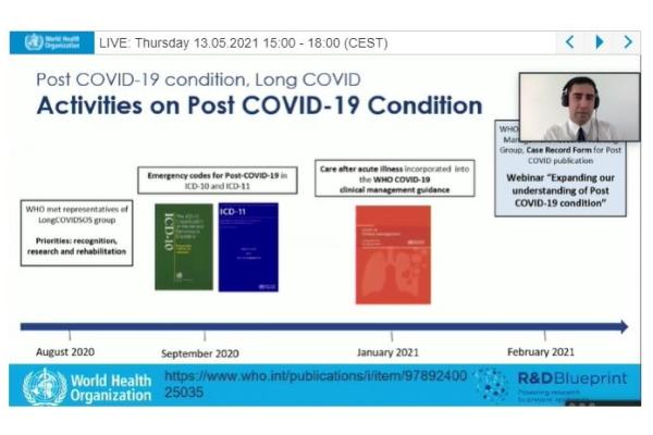 Pesquisador do Hospital Moinhos de Vento integra grupo de trabalho da OMS sobre enfrentamento da Long COVID