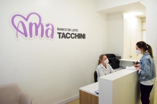 Tacchini Sistema de Saúde inaugura Banco de Leite AMA