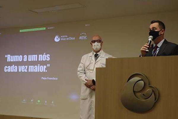Dr. Euler Manenti assume a diretoria médica do Hospital Mãe de Deus