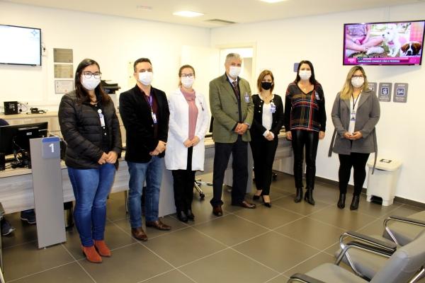 Hospital Dom João Becker inaugura nova estrutura de análises clínicas