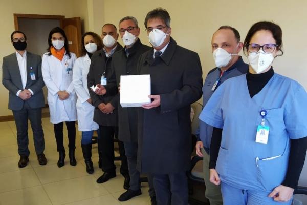 Hospital Ernesto Dornelles recebe protótipo para tratamento de pacientes com Covid-19 da PUCRS