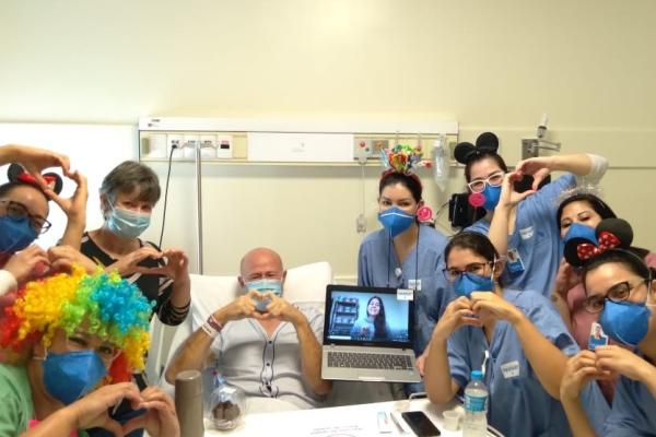 Realização de desejos provoca onda de ações positivas no Hospital Moinhos de Vento