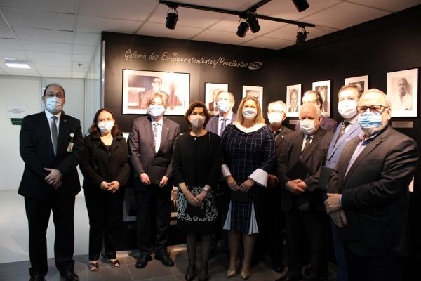 GHC inaugura Galeria de Ex-superintendentes Presidentes