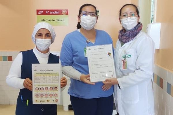 Hospital Criança Conceição atualiza as placas de identificação beira leito das enfermarias