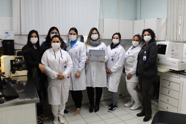 Laboratório do Hospital Dom João Becker conquista o Padrão Diamantede qualidade pela PNCQ