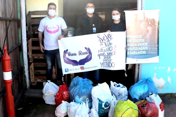 Operadora Verte Saúde realiza entregas de doações a ONGs
