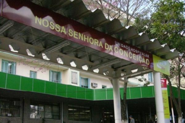 Hospital Conceição informa diminuição de áreas afetadas por surto de Covid-19