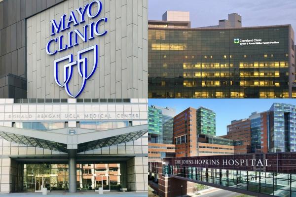Os melhores hospitais dos EUA em 2021-2022