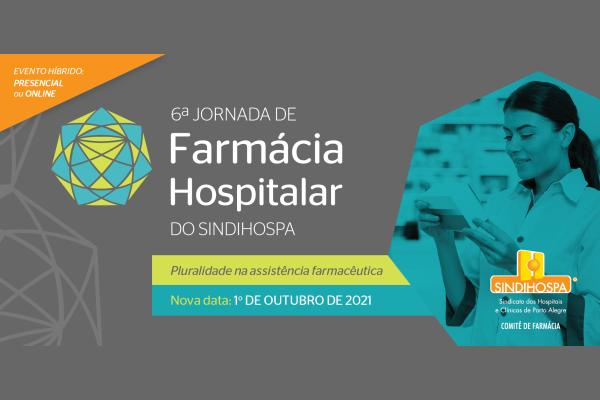 Desafios e aprendizados do setor de farmácia na pandemia serão discutidos em evento na capital
