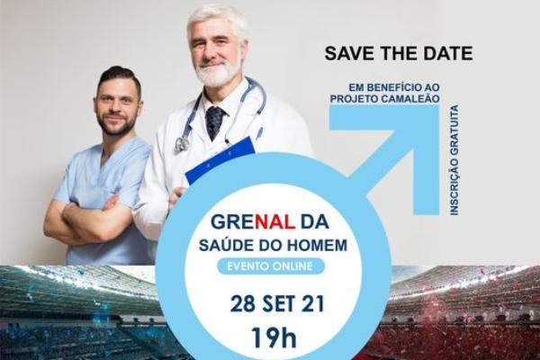 Grenal da Saúde alerta para a prevenção de doenças relacionadas à saúde do homem