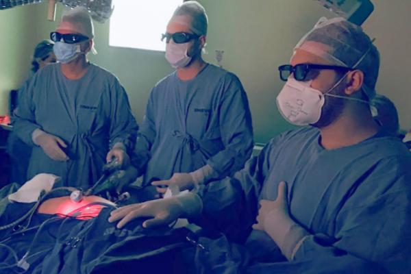 HSVP de Passo Fundo é um dos pioneiros no RS em tecnologia 3D para cirurgia por videolaparoscopia
