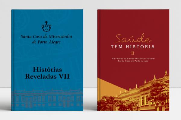 O universo da medicina e suas histórias é tema de dois livros lançados pela Santa Casa